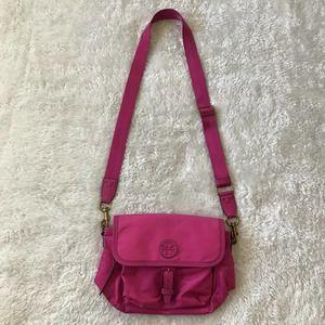 Tory Burch Tilda Nylon Crossbody Bag Fuchsia Pink